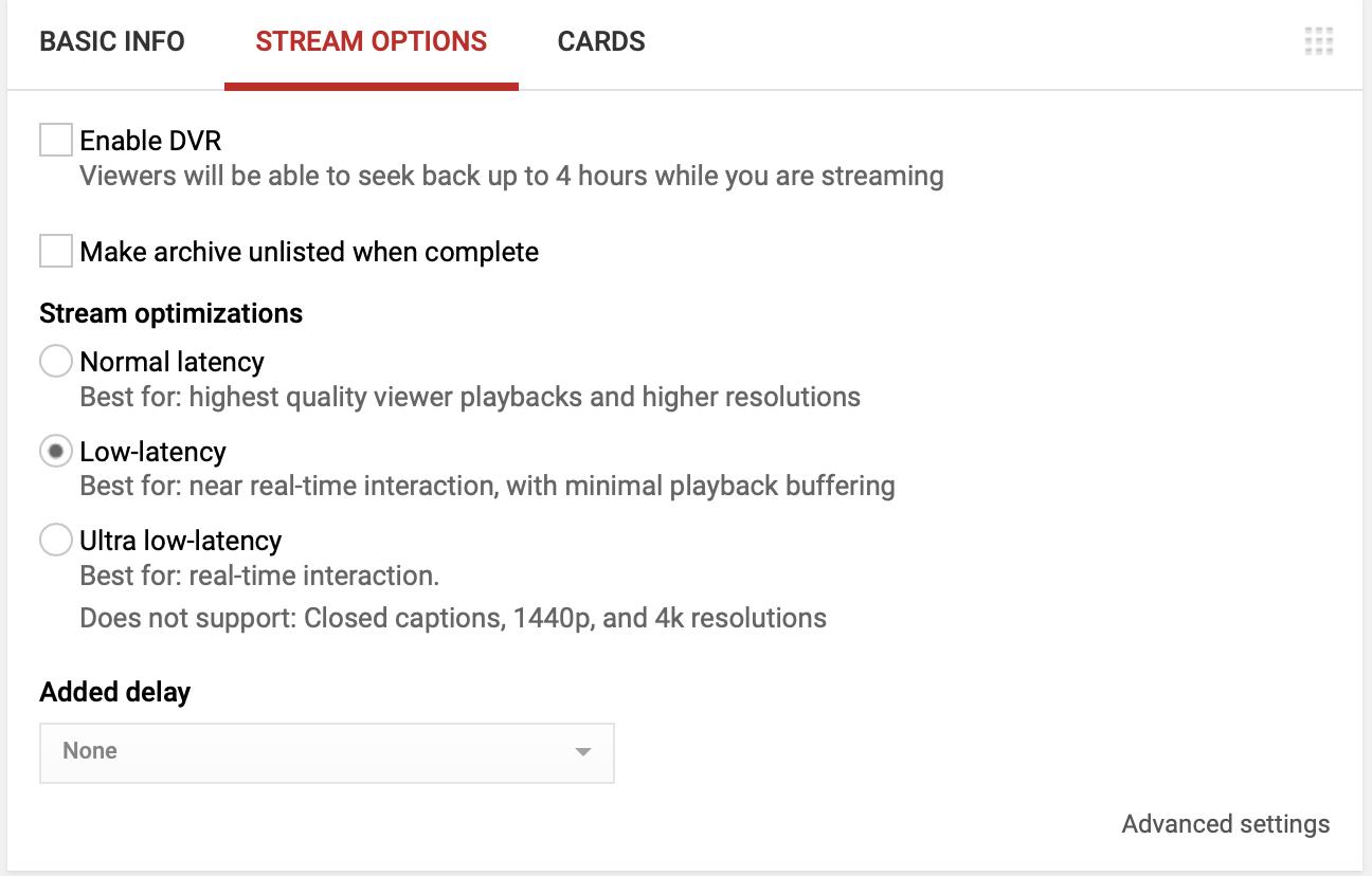 SSP_YouTube_Dashboard_StreamNow_StreamOptions.png