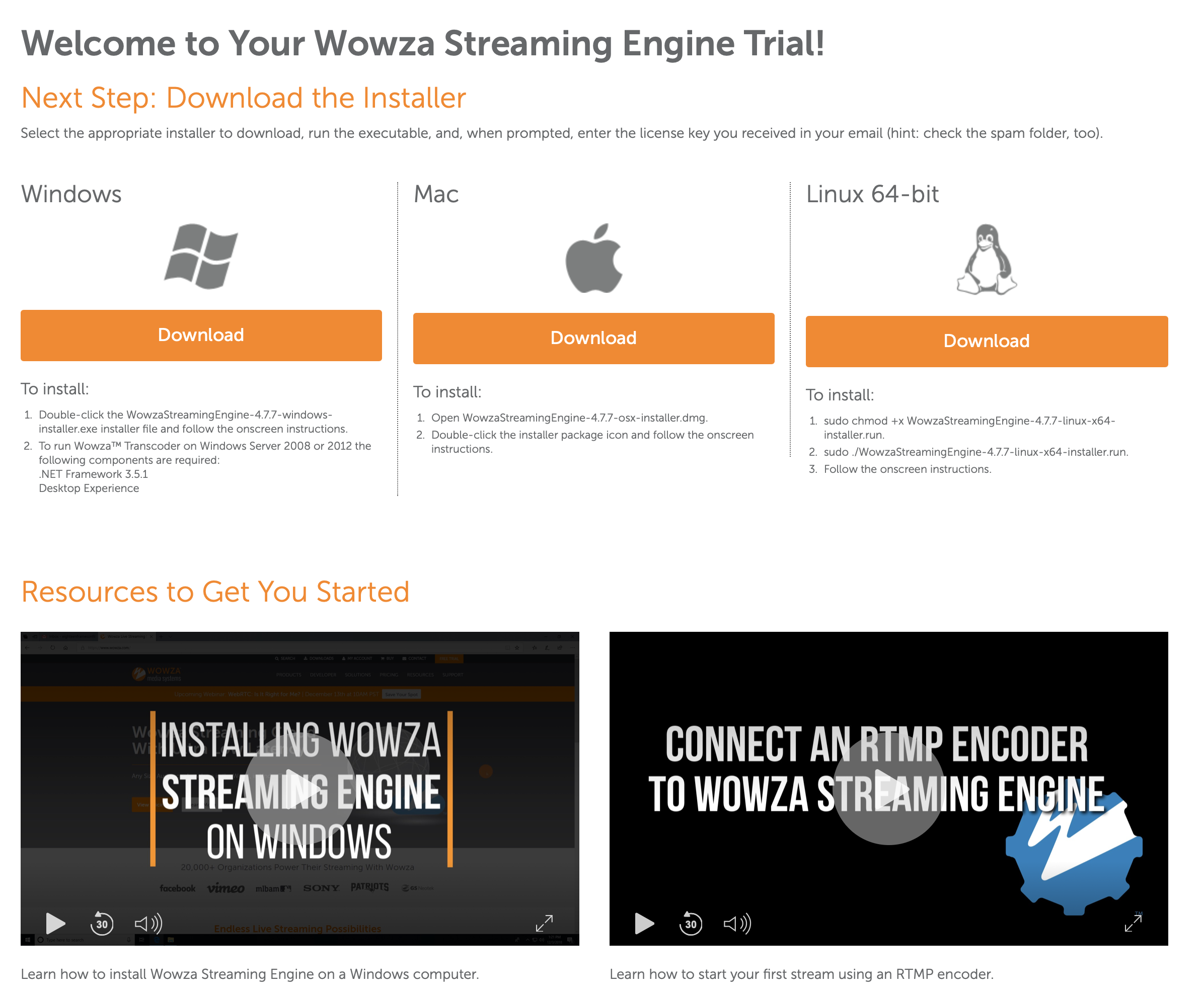 HOW TO: Stream to a Wowza or RTMP server – Softron Support Desk